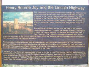 Explanation of Lincoln Highway